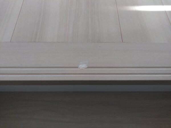 階段を上ると見えるフローリング(床)のキズ補修(茨城県石岡市・I様)